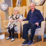 Collis and Hilda celebrate their platinum wedding anniversary…