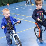Hundreds of primary pupils were given the opportunity to take part in balance bi…