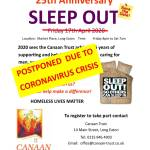 25th Anniversary Sleep Out…