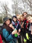 Ignis Explorers, part of 1st Sitwell Scout Group, Horsley Woodhouse, visited Hes...