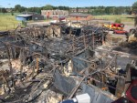 HARRINGTON JUNIOR SCHOOL FIRE, LONG EATON - ACCIDENTAL VERDICT...