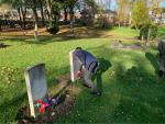 Representatives of Granby Junior School attended the Remembrance Service in Park...