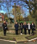The fallen remembered at Park Cemetery...