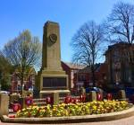 Wow! Cenotaph is a blaze of colour in today's sunshine....