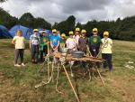 The 21st Ilkeston (Kirk Hallam) cub pack went to camp at the Oaks site, Charnwoo...