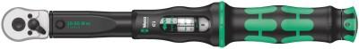 Der Wera Click-Torque C 1 Drehmomentschlüssel im unverkennbaren Wera Design. Er hat eine sehr robuste Ausführung bei hoher Genauigkeit