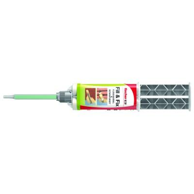 Flüssigdübel und Reparaturmasse mit optimaler Eignung für die Reparatur/Ertüchtigung ausgerissener Bohrlöcher oder für die Befestigung...