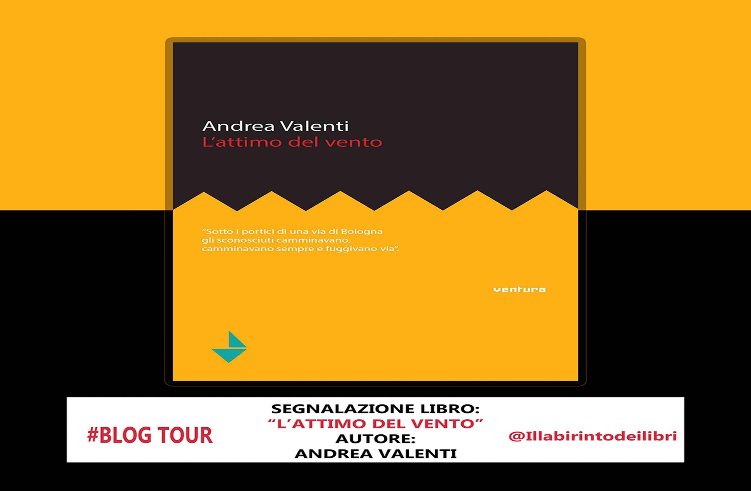 """BLOG TOUR-Segnalazione libro """"L'attimo del vento"""""""