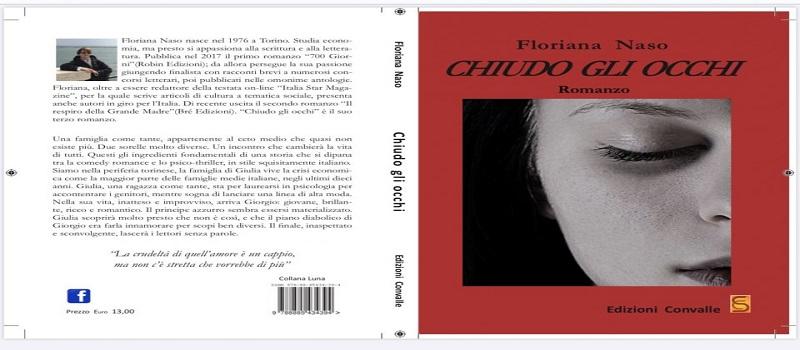 """Segnalazione libro """"Chiudo gli occhi"""" di Floriana Naso"""
