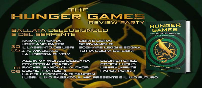 """Review Party """"Hunger Games- Ballata dell'usignolo e del serpente"""""""