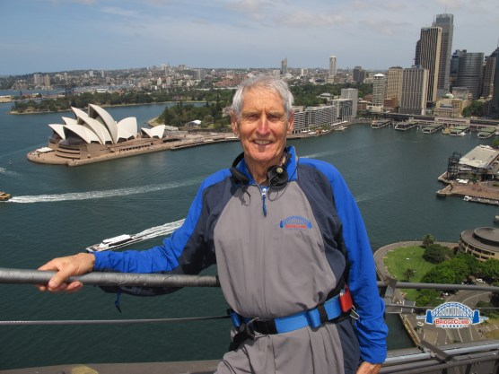 Climbing the Sydney Harbour Bridge