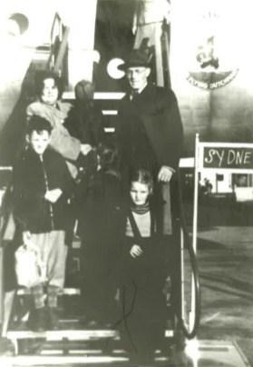 Hendriksen Family Arrival