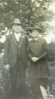 James Stevenson and Susannah Stevenson (nee Harris) Circa 1940