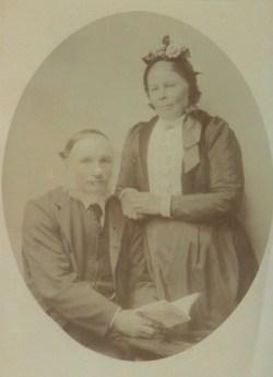 John George Harris and Emily Margaret Harris (nee Blayney) Circa 1905