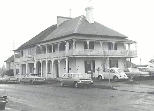 C.W.A. Service House Church Street, Alowrie 1963