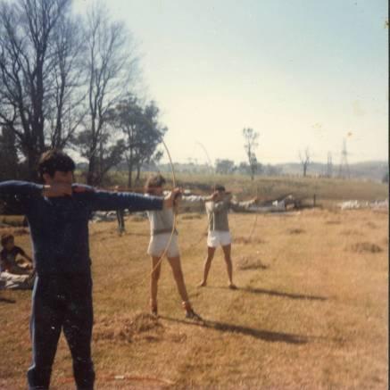 Archery at Logbridge Farm, Mt. Keira