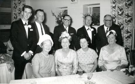 Judith Knowles' wedding