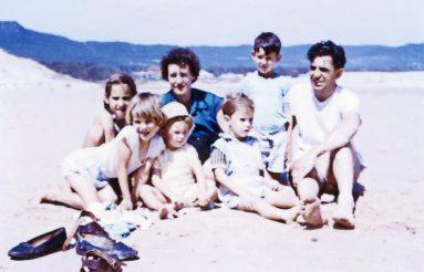 Betty, Robert, and children