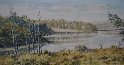 Cordeaux Watercolour by Terry Houghton