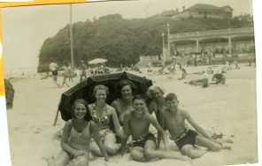 Austinmer Beach - Late 1940s