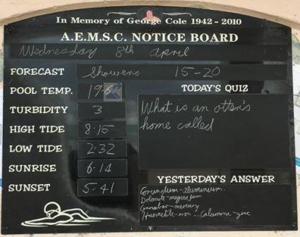 A.E.M.S.C. Notice Board