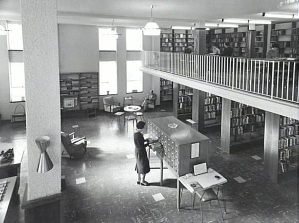 P11142 - Wollongong City Library, 1959