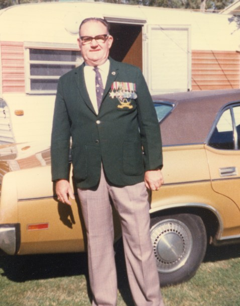 Kenneth North - Anzac Day in Dubbo, 1999