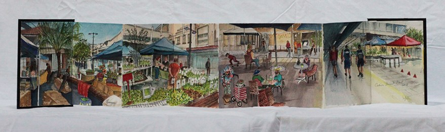 """""""Market in the Mall"""", by Pamela Griffith"""