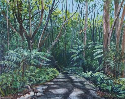"""""""Mount Kembla Rainforest"""", by Pamela Griffith"""