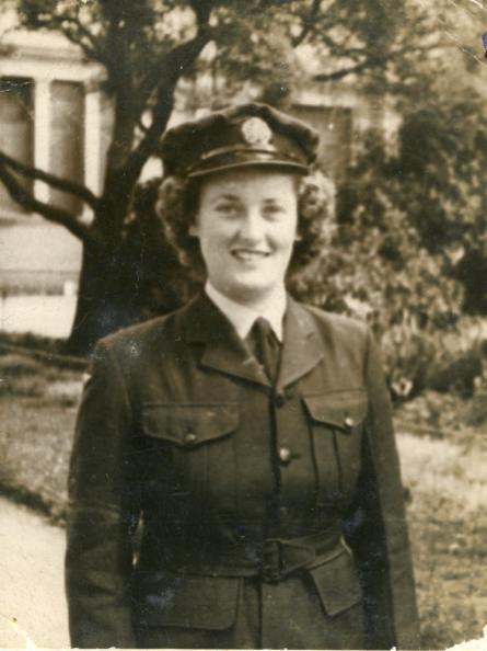 P32192 - Carol North at 20 in RAAF - Queensland, 1942