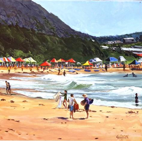 """""""Sandon Point Beach"""", by Pamela Griffith"""