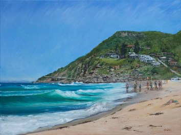 """""""Stanwell Park Beach"""", by Pamela Griffith"""