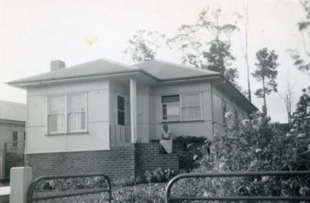 44 Waldron Street, Mount St. Thomas - the Thomson family home in the mid 1950s