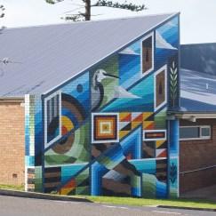 The Coledale Community Centre Mural