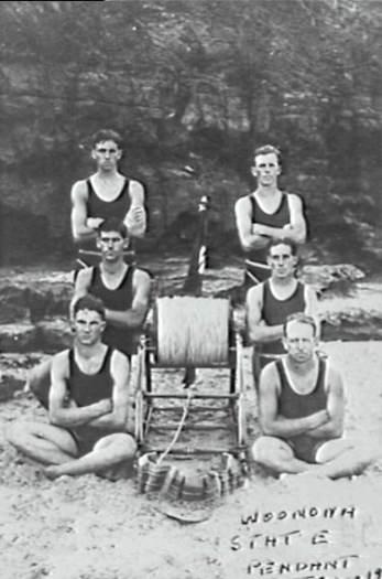 P03317 - Woonona Surf lifesavers - 1920s