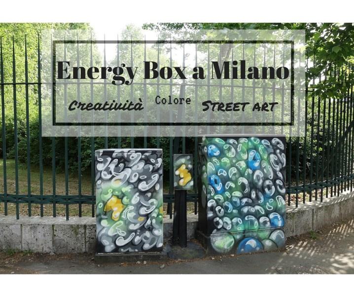 Energy Box a Milano: colori e street art