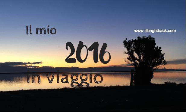 2016 in viaggio