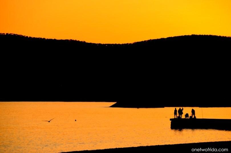 tramonto sul mondo