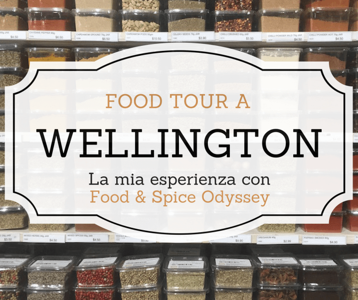 Food Tour a Wellington con Food & Spice Odyssey