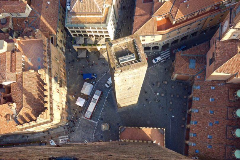 Bologna dall'alto