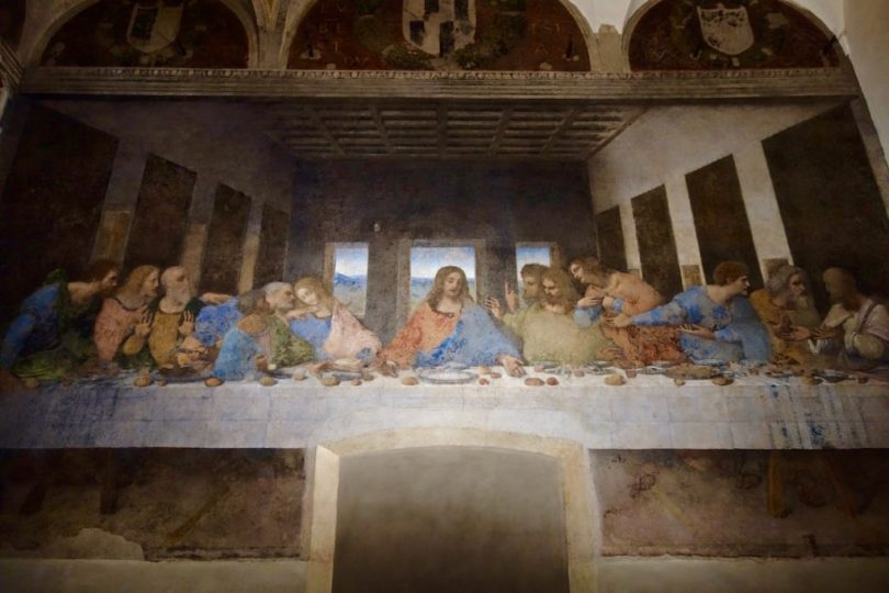 visita al Cenacolo di Leonardo