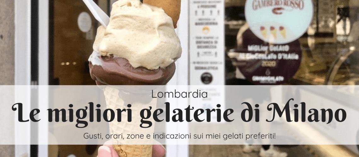 Migliori gelaterie di Milano