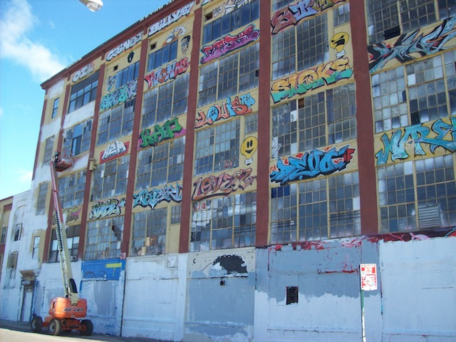 5pointz artworks being whitewashed