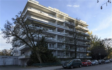 The apartment block in Munich where 1500 works were discovered in 2011