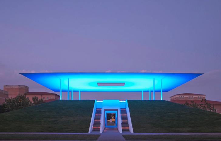 James Turrell's Skyspace at Rice University.
