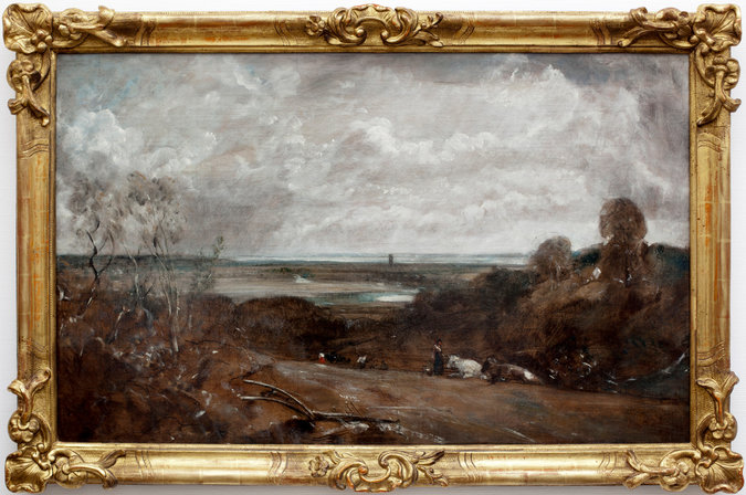 "John Constable's ""Dedham from Langham"""