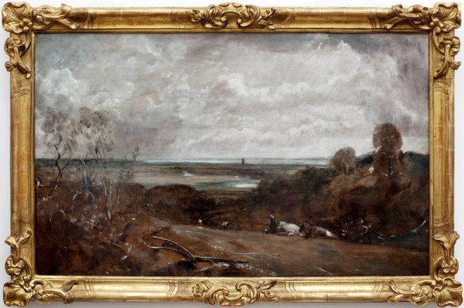 """John Constable's """"Dedham from Langham"""""""
