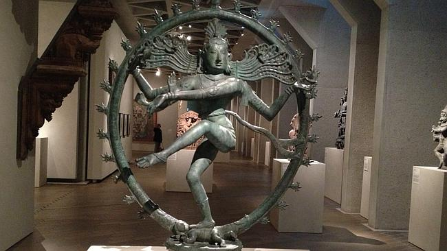 The 900-year-old dancing Shiva statue was removed from display