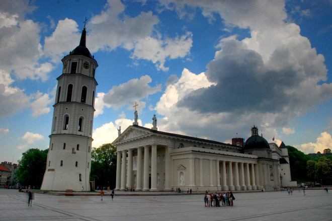 The Old Town Cathedral, Vilnius, Lithuania