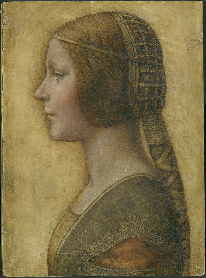 """Profile of a Young Fiancee""  Licensed under Public Domain via Commons - https://commons.wikimedia.org/wiki/File:Profile_of_a_Young_Fiancee_-_da_Vinci.jpg#/media/File:Profile_of_a_Young_Fiancee_-_da_Vinci.jpg"